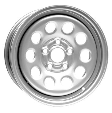 DOTZ 4X4 Modular 16 Silver inch velg