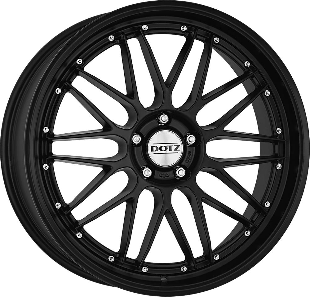 Dotz Revvo black edt. 20 Black matt inch velg