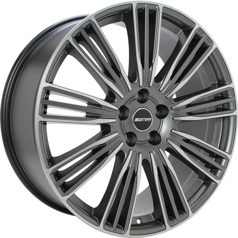 GMP COVENTRY 21 Mat antraciet gepolijst inch velg