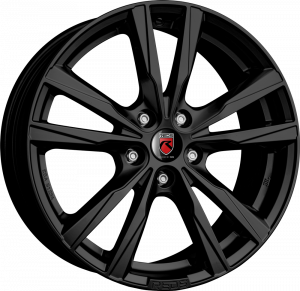 REDS K2 HD 16 Mat zwart inch velg