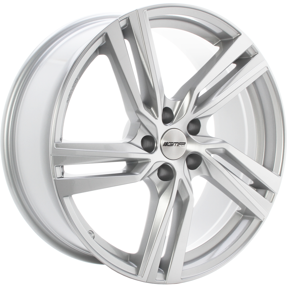 GMP ARCAN 17 Zilver inch velg