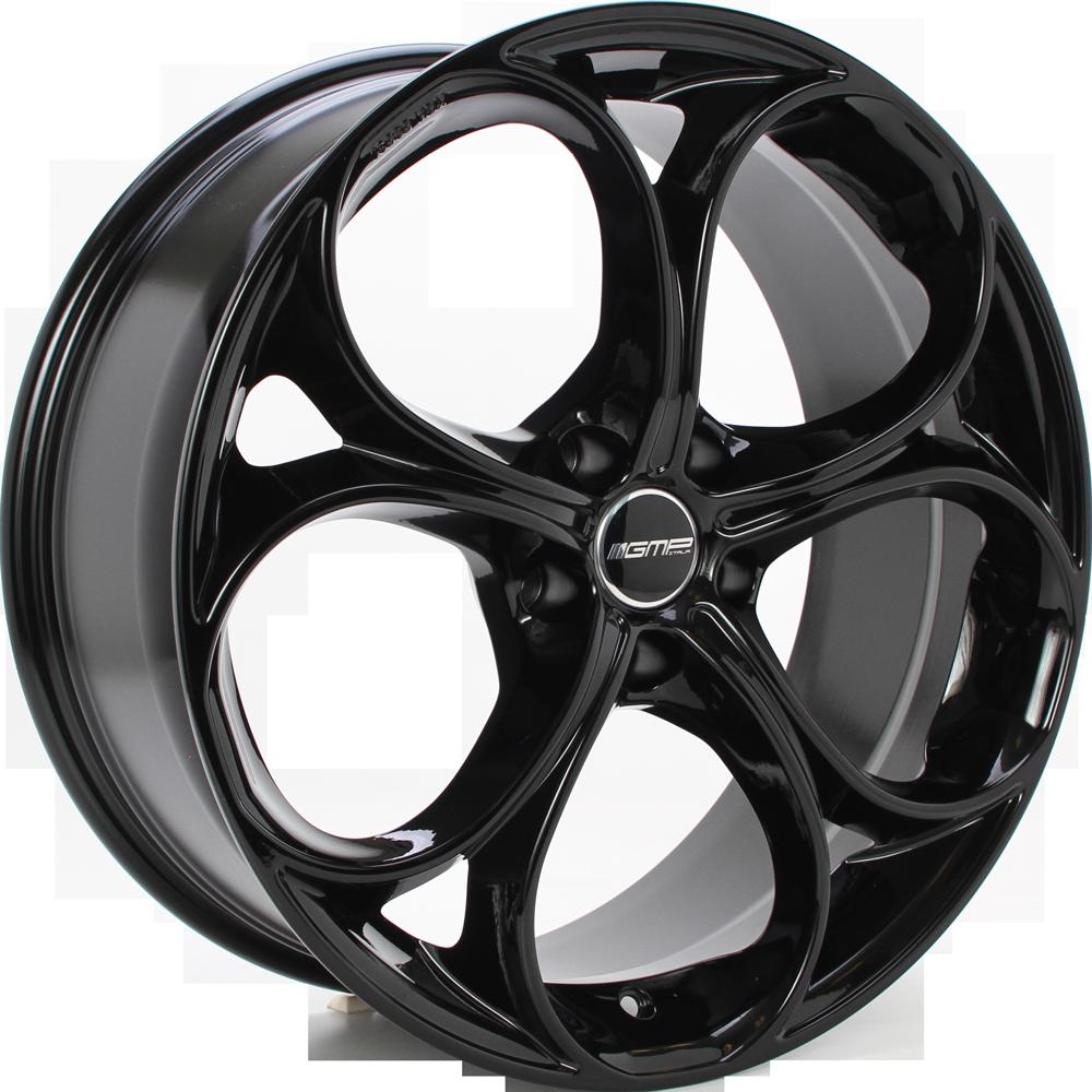 GMP DRAKE 18 Zwart inch velg