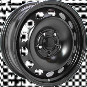 ALCAR STAHLRAD 7615 15 Zwart inch velg