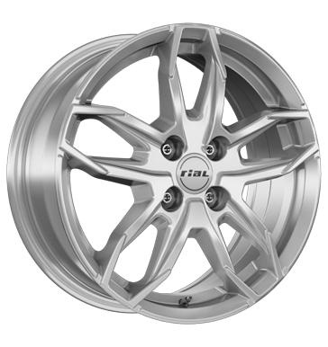RIAL LUCCA 16 Zilver inch velg