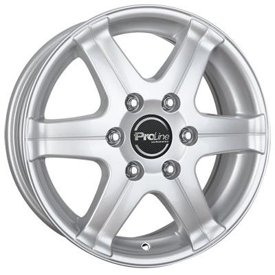 Proline Wheels PV/T 16 arctic silver inch velg