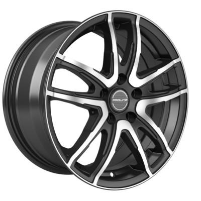 Proline Wheels PXV 14 black polished inch velg