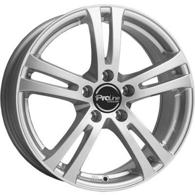 Proline Wheels BX700 17 arctic silver inch velg