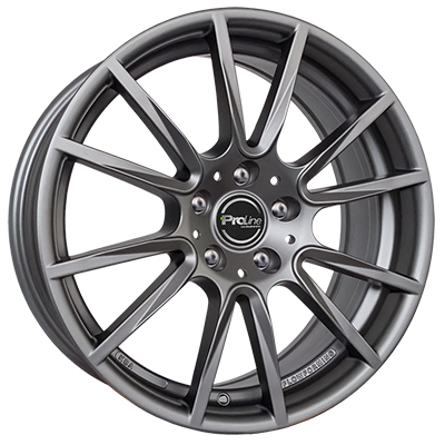 Proline Wheels PXF 17 matt grey inch velg