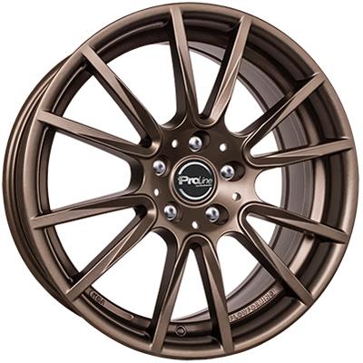 Proline Wheels PXF 17 matt bronze inch velg