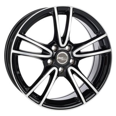 Proline Wheels CX300 15 black polished inch velg