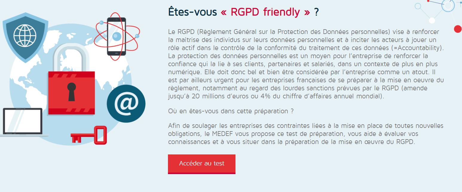 Test : êtes-vous RGPD friendly ?