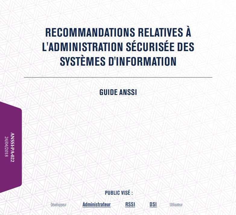 Administration sécurisée des systèmes d'information
