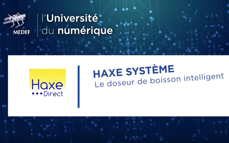 @HAXE #Commerce #BoissonIntelligente
