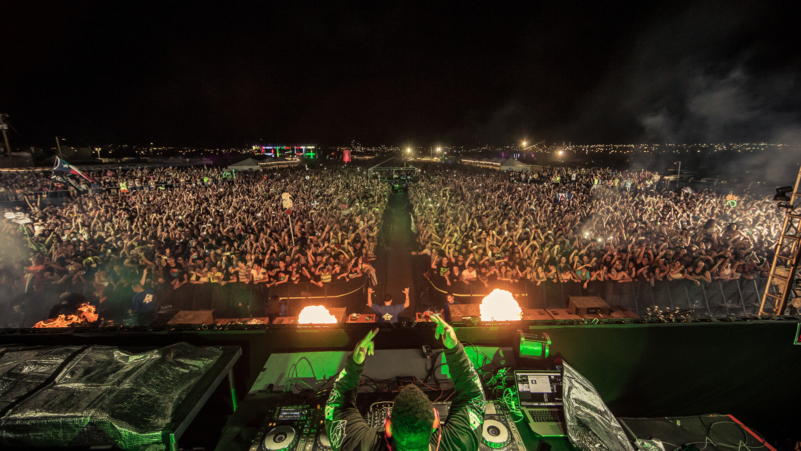 Carnage performing at Sun City Music Festival 2014