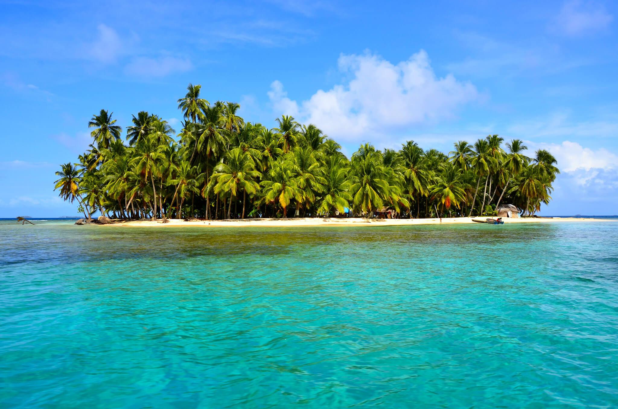 Island in the archipelago of San Blas