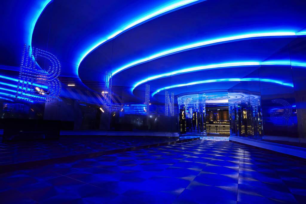 Bling Nightclub at the Hard Rock Hotel in Panama