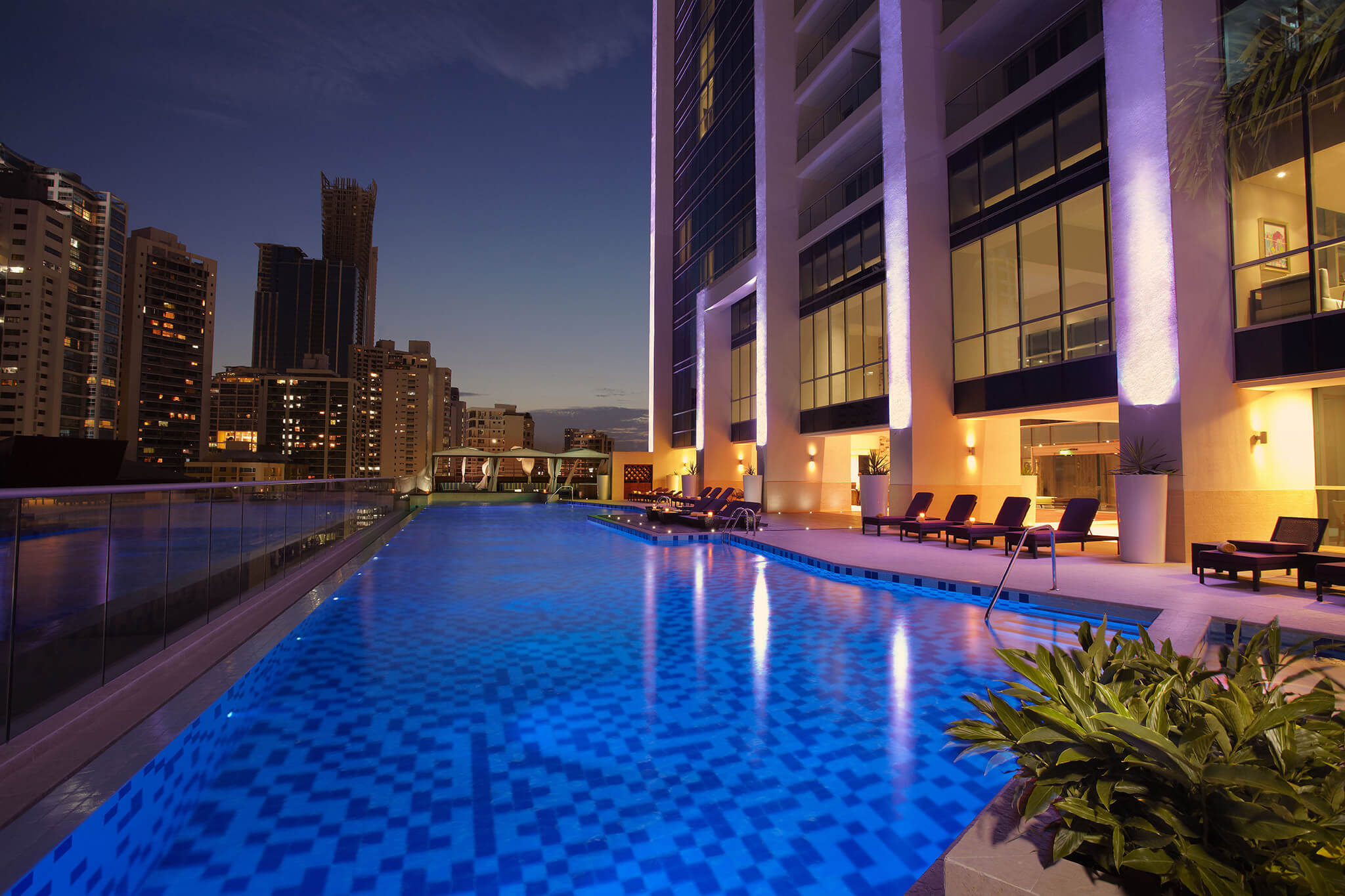 Pool at the Hard Rock Hotel in Panama
