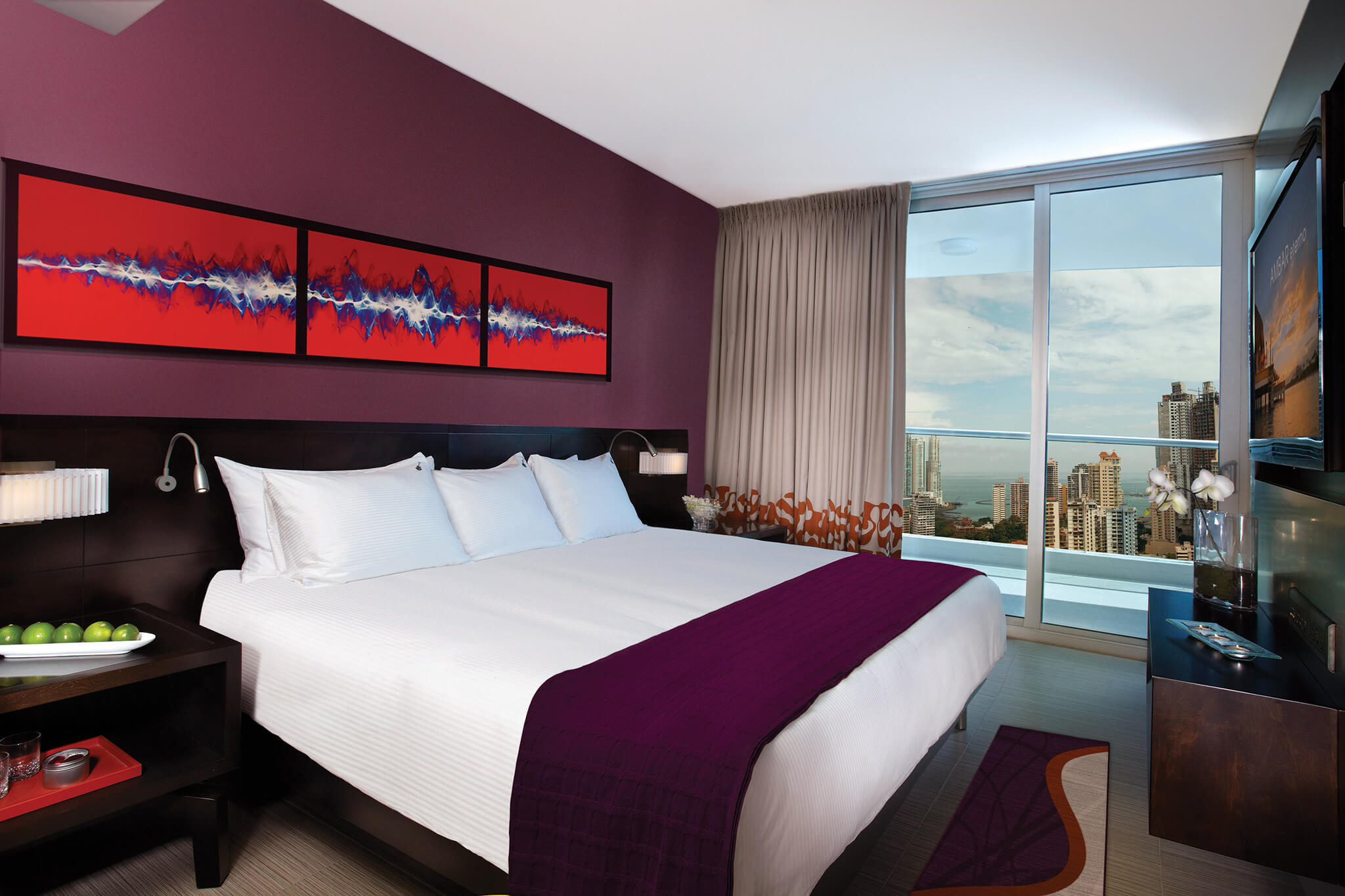 King Room at the Hard Rock Hotel in Panama