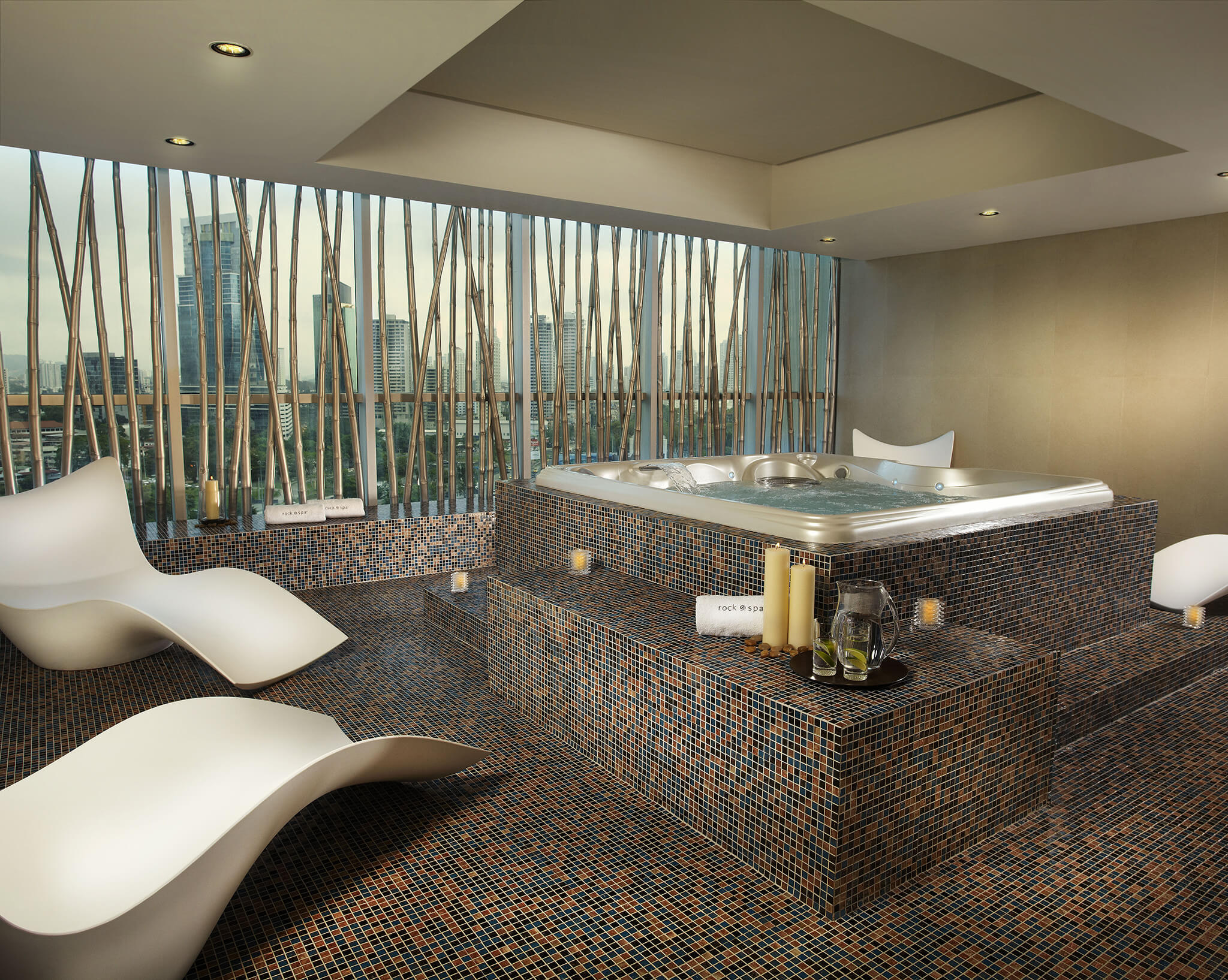 Spa at the Hard Rock Hotel in Panama