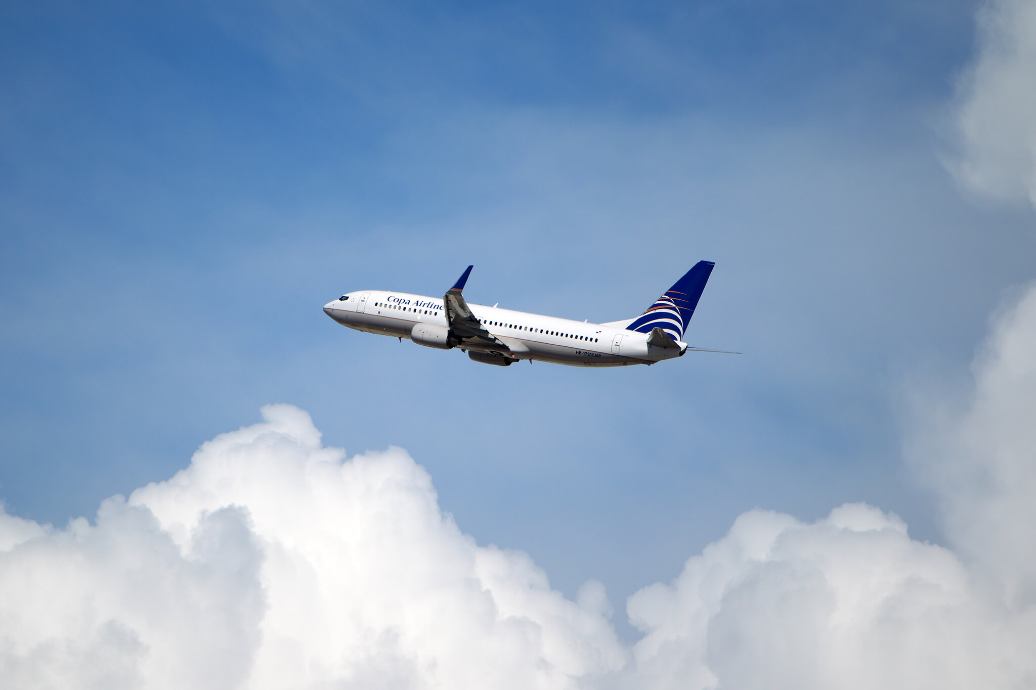 Copa Airlines plan flying to The Day After Festival