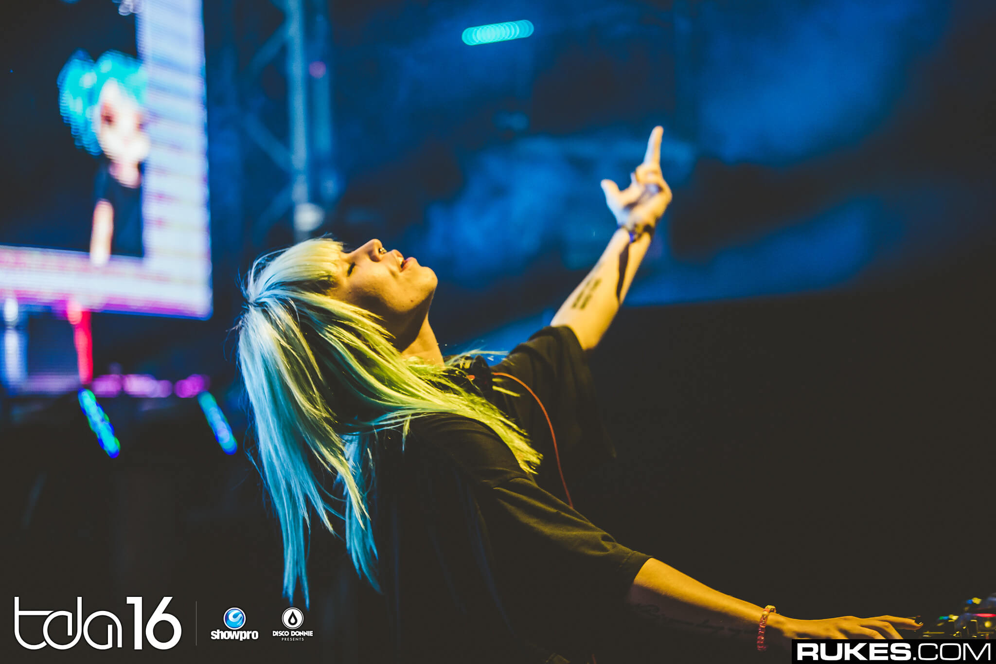 Mija performing at The Day After Festival 2016. Photo by Rukes.