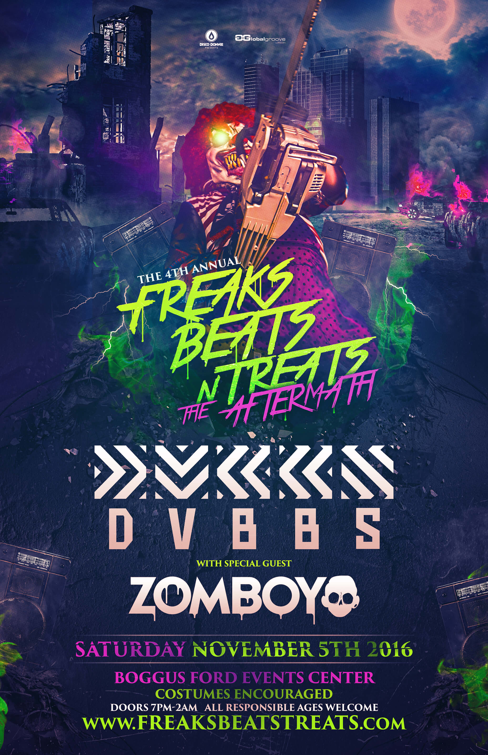 Freaks, Beats, 'n Treats 2016 in Pharr, Texas