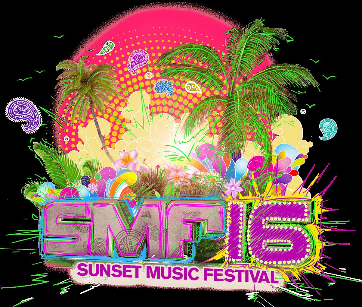 logo for Sunset Music Festival 2016