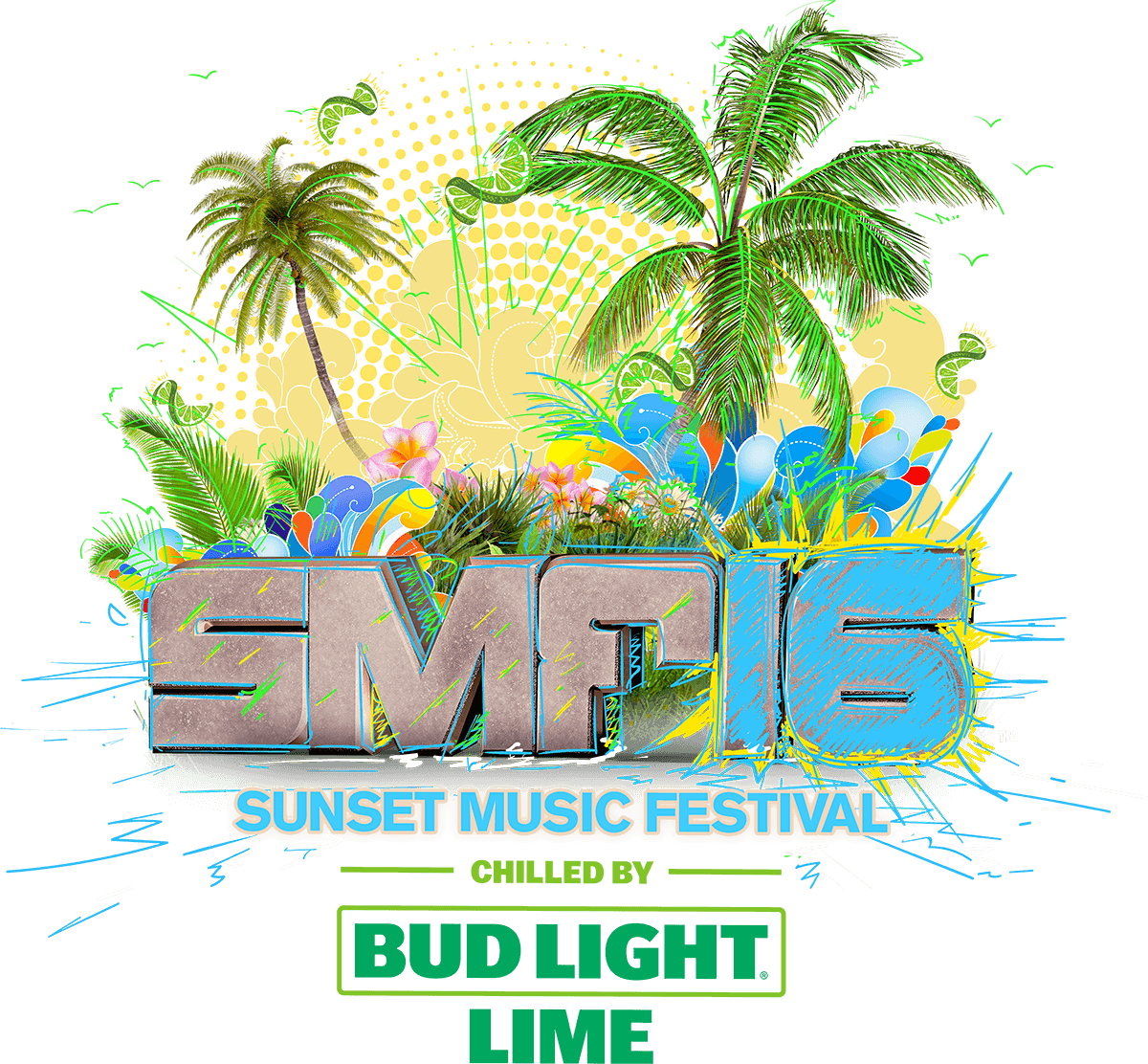 logo for Sunset Music Festival 2016