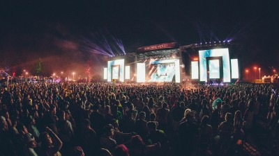 Main stage at Something Wicked 2014