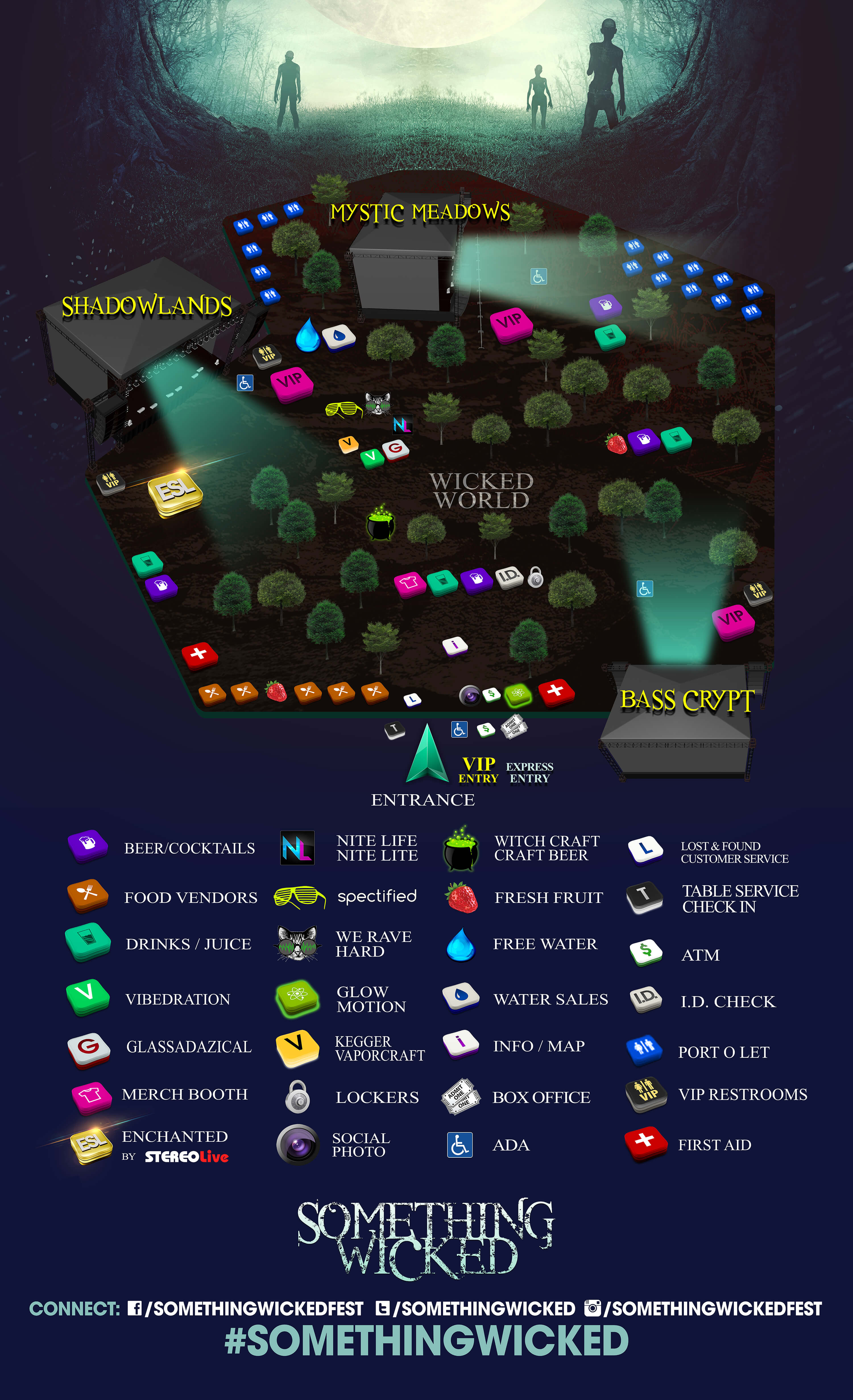 something wicked 2016 map