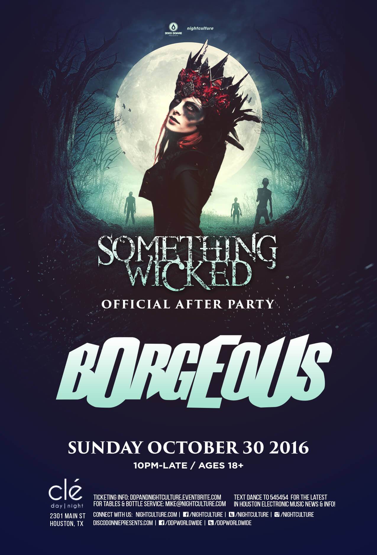 Borgeous at Cle in Houston