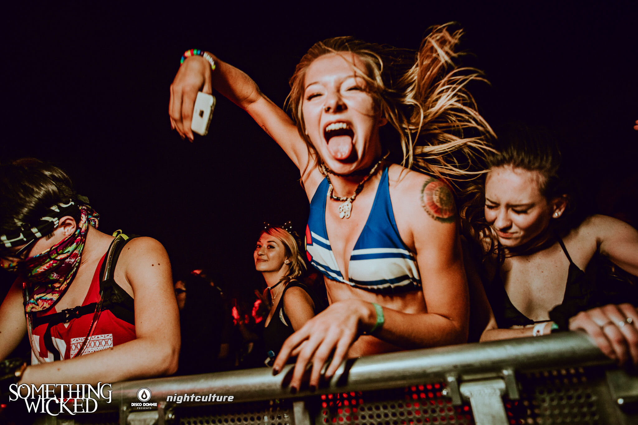 Fans at Something Wicked. Photo by Julian Bajsel.