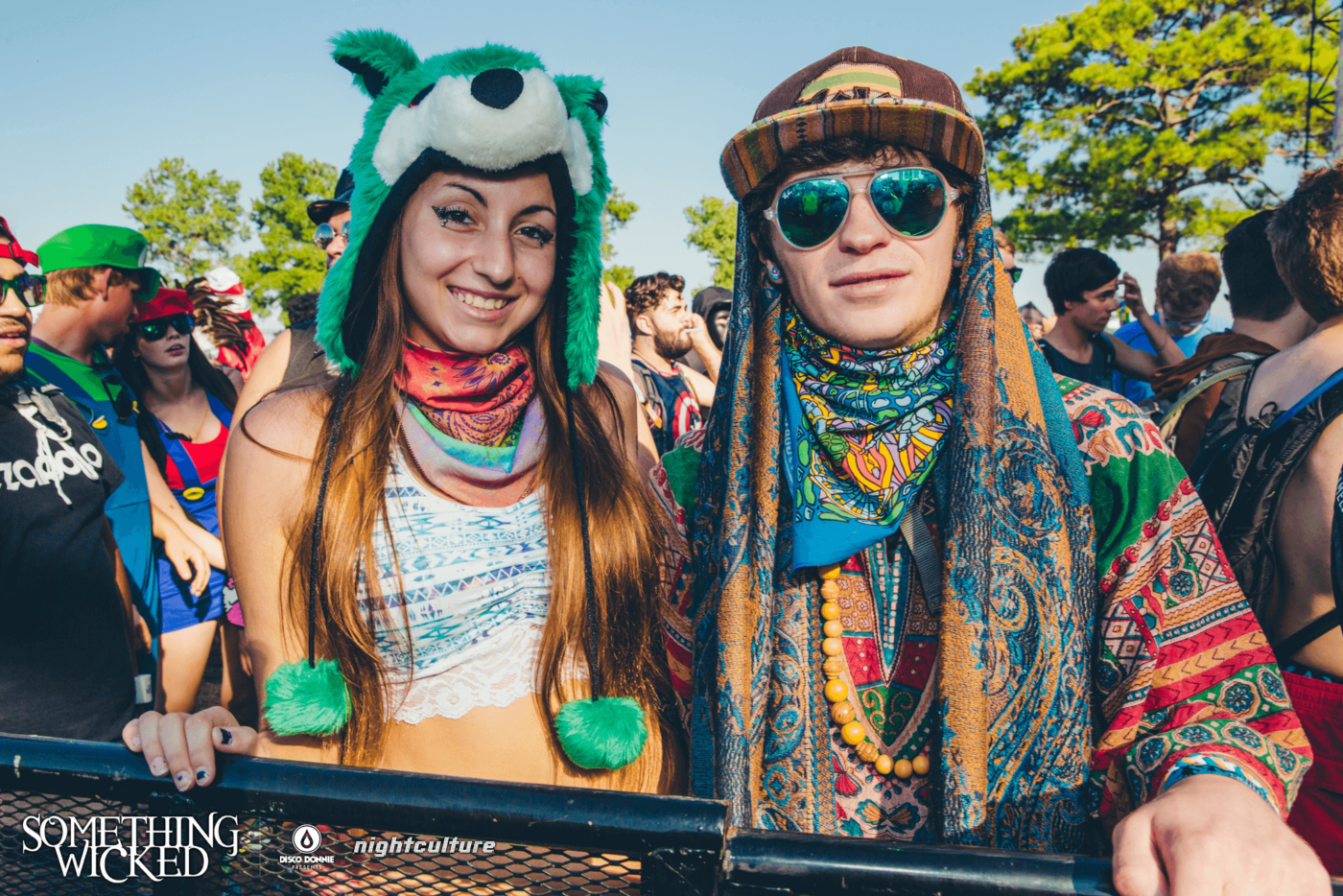spirit hood fans at something wicked