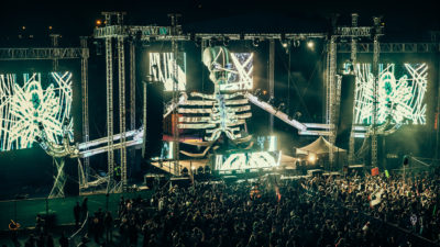 Bass stage at Something Wicked