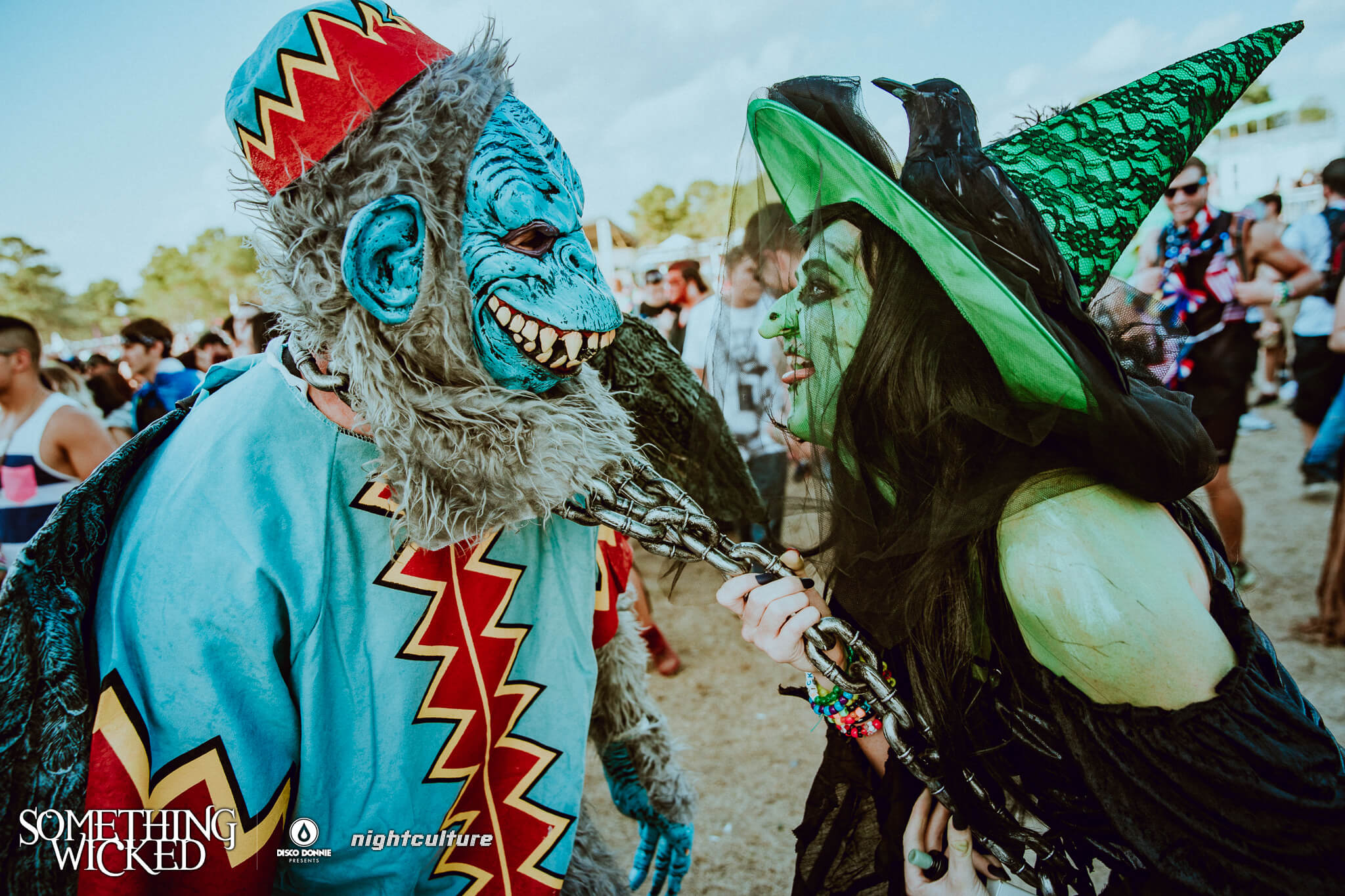 wicked witch of the west at something wicked festival