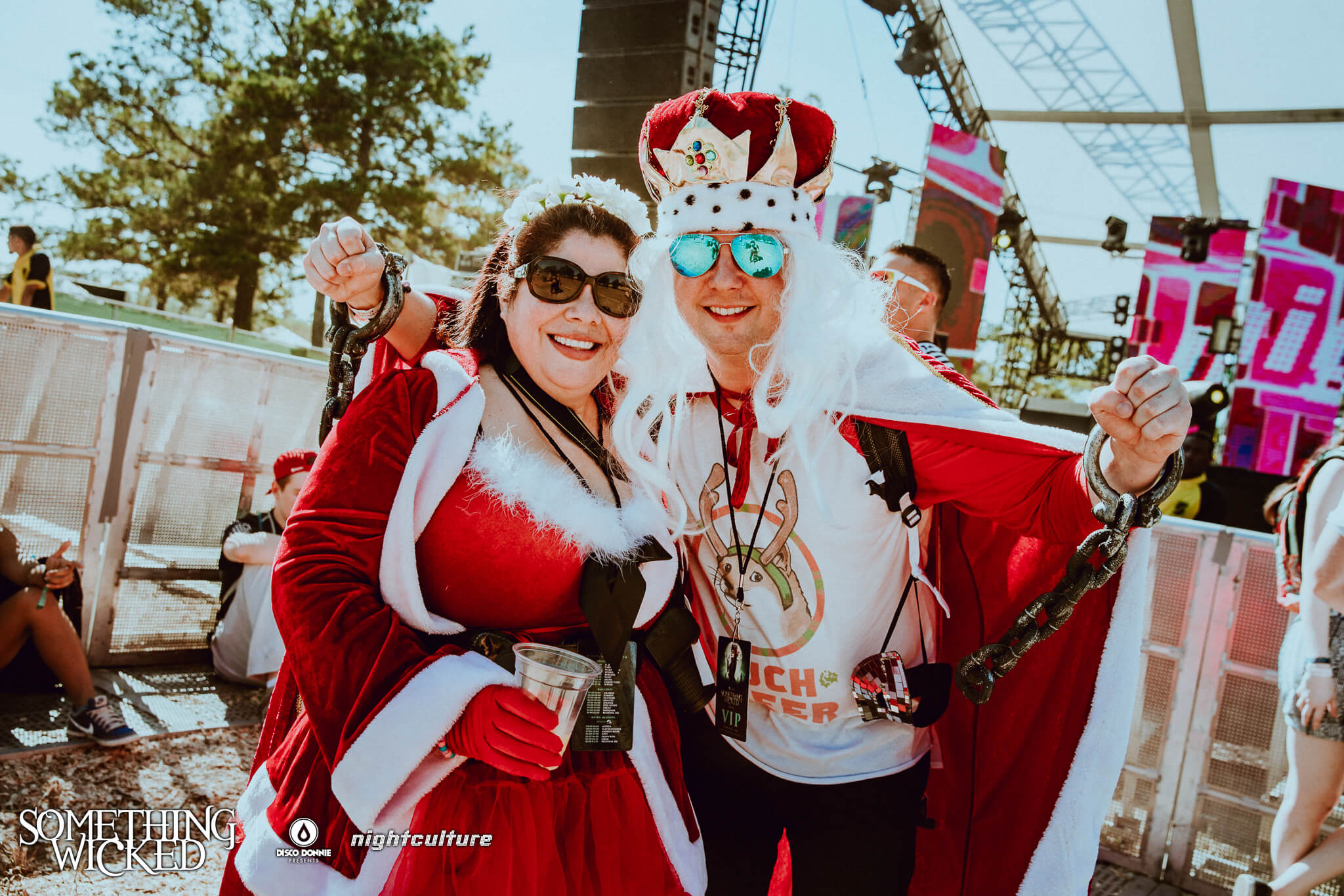 Fans in costume at Something Wicked. Photo by Julian Bajsel.