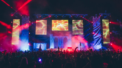 Andrew Rayel performing at Something Wicked 2014