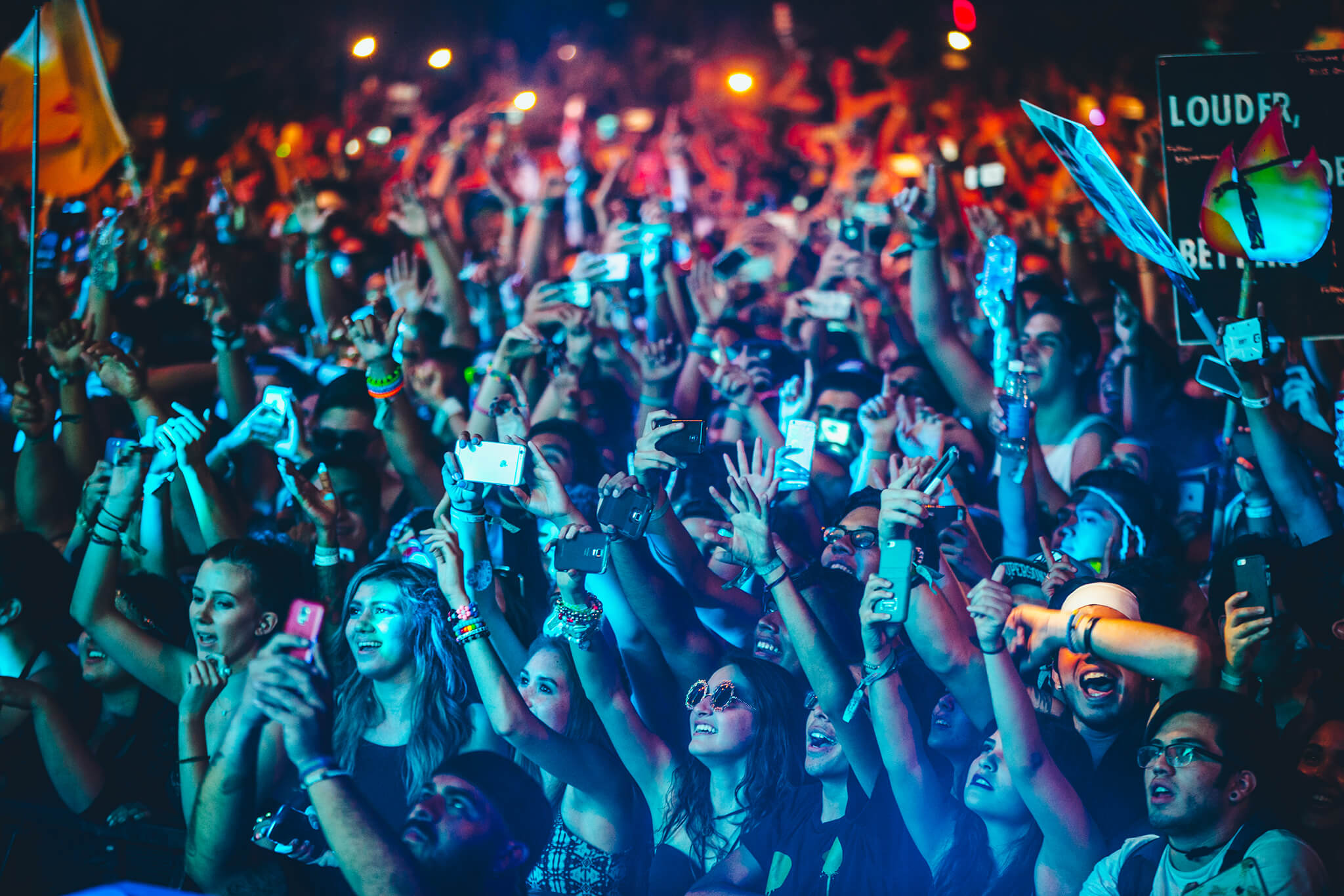 Fans at Sun City Music Festival 2015