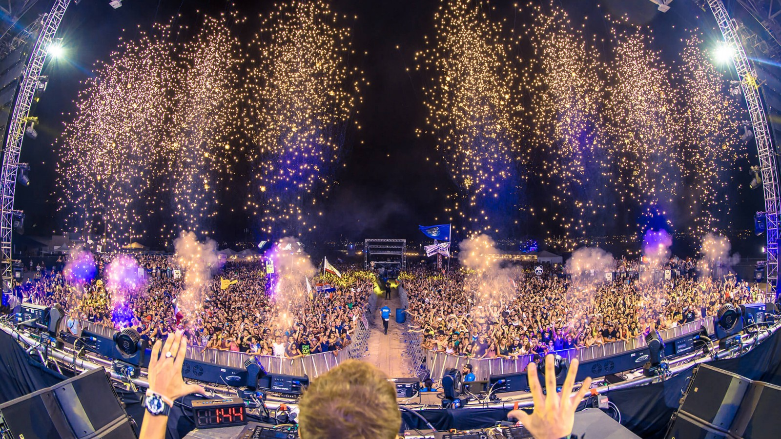 Dash Berlin performing at Sun City Music Festival 2015