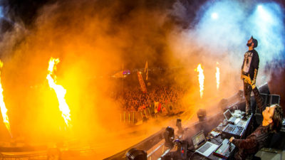 Zeds Dead performing at Sun City Music Festival 2015