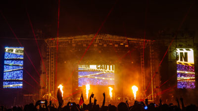 Main stage at the Ultimate Music Experience 2015