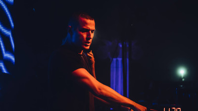 DJ Snake performing at Ultimate Music Experience 2014