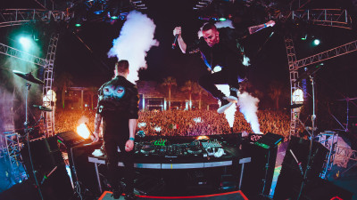 Galantis performing at Ultimate Music Experience 2016