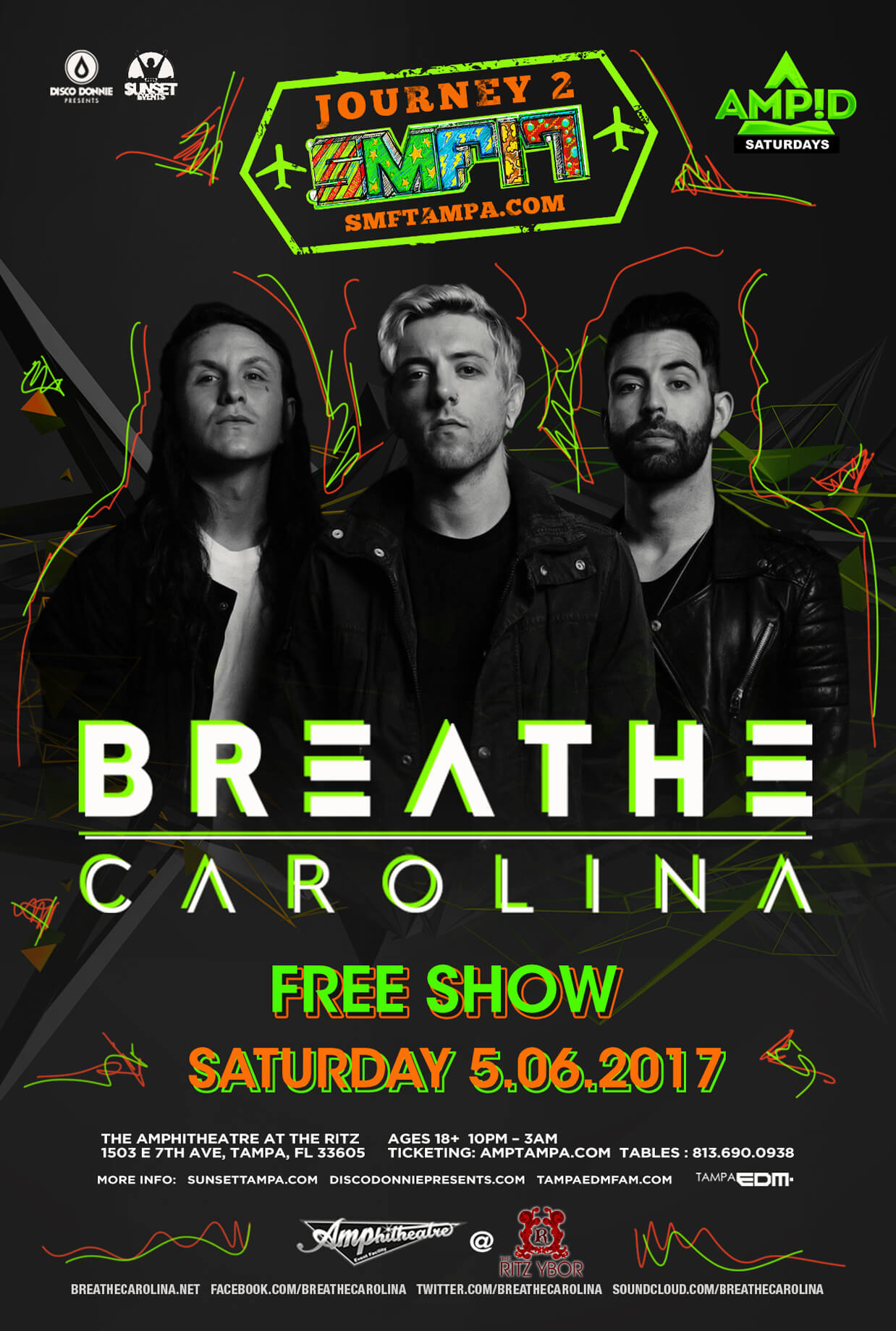 Breathe Carolina at The Ritz Ybor