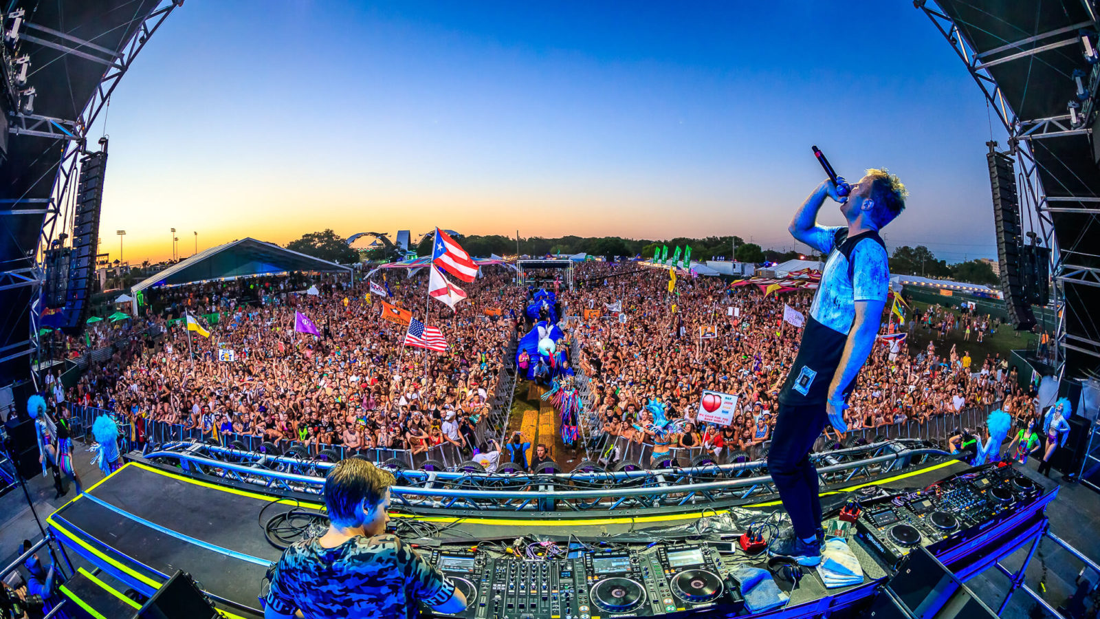 tritonal live at sunset