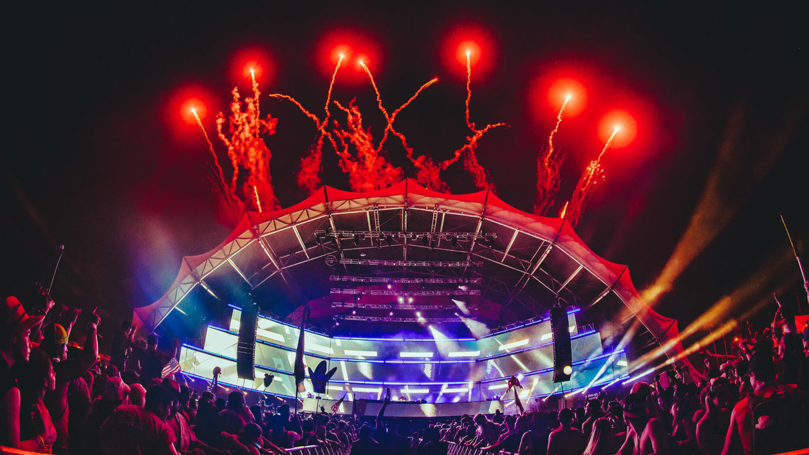fireworks finale at hardwell