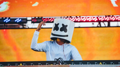marshmello live at sunset