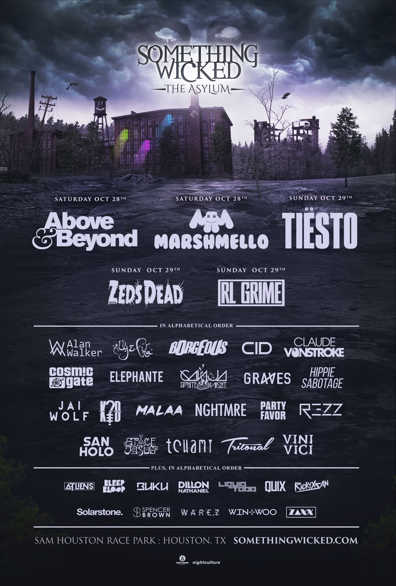 Something Wicked: The Assylum 2017 Lineup