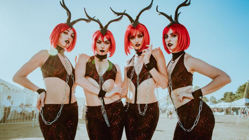 devilish dancers