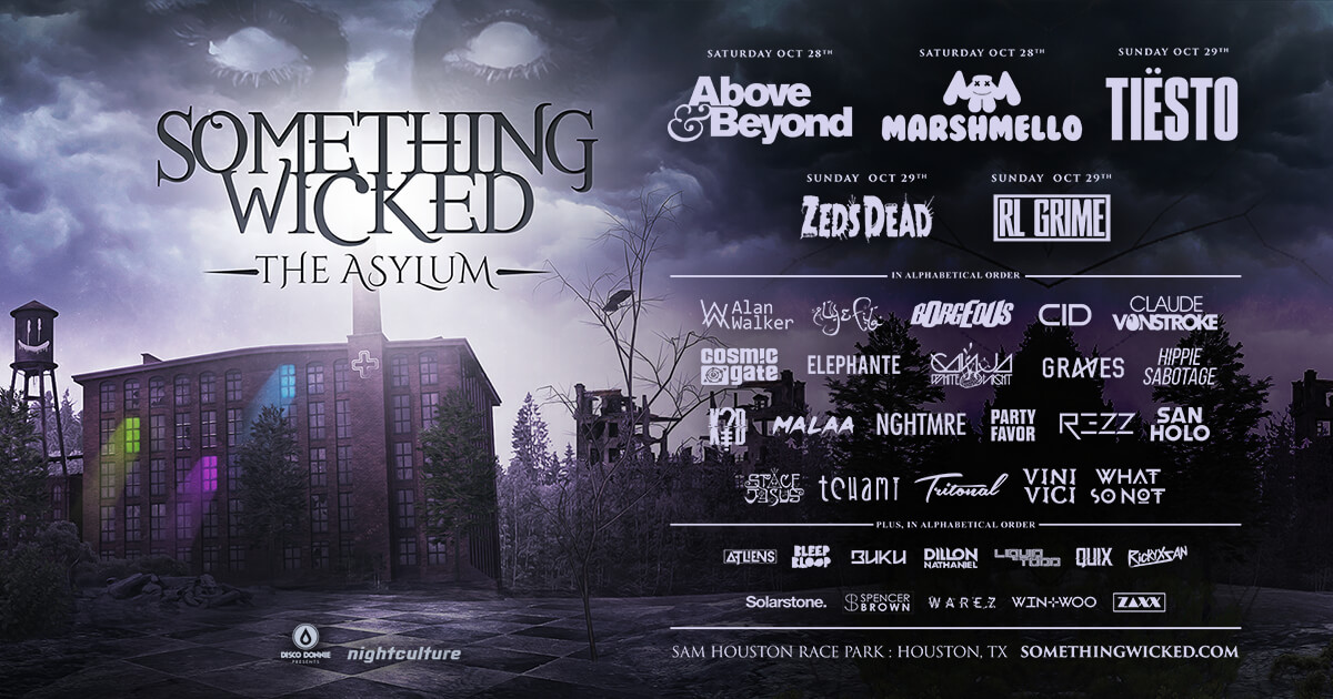 something wicked the asylum lineup